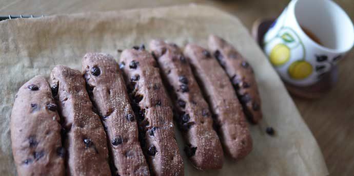 チョコスティックパン(おうちパン講座・中級)