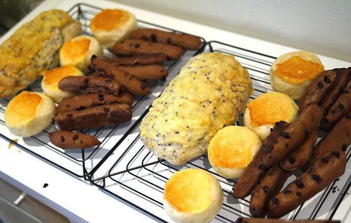 おうちパン教室PakuPaku おうちパン講座中級3種のパン