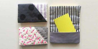 【ワークショップ】三角の組み合わせが楽しい!パッチワークで作るカードケース