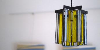 【奄美】子供部屋の照明をステンドグラス作家 熊崎さんにオーダーする旅
