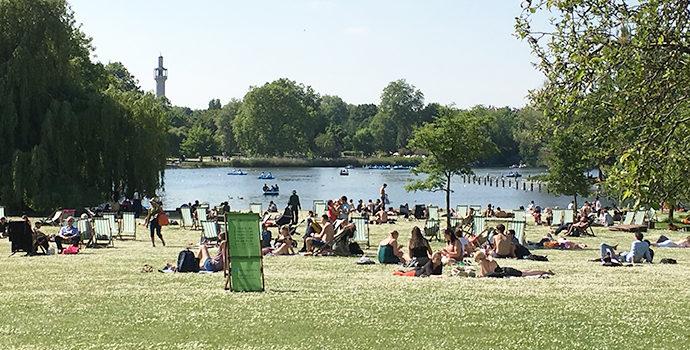 ロンドン子連れ観光スポット リージェンツパーク Regent's Park