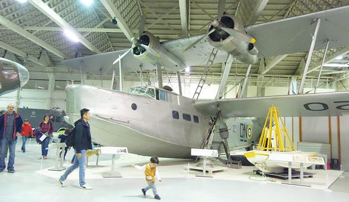 ロンドン子連れスポット 王立空軍博物館 Royal Air Force Museum