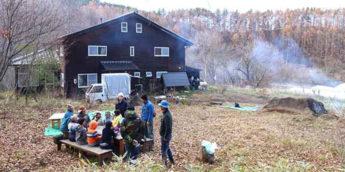【長野】森のようちえん・ちいろば小学生秋キャンプ 。人・命のつながりを学ぶ「ラーメン作り」