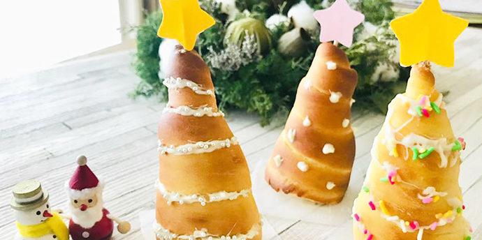 【レシピ】親子で作ろう!クリスマスコロネ