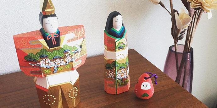 桃の節句「ひな祭り」に飾る、おしゃれ&コンパクト雛・立ち雛 5選