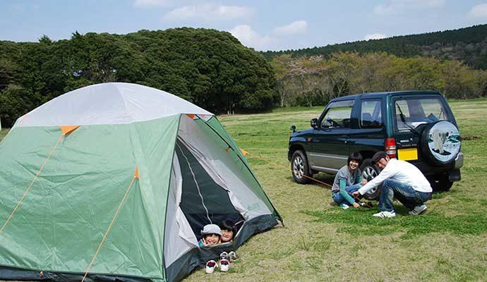 マザー牧場 オートキャンプ