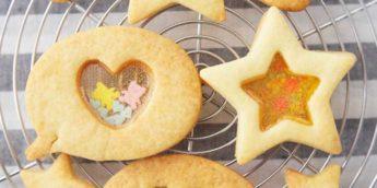 【親子で体験しよう】ステンドグラスクッキー を手作りしませんか? キラキラ透けて子供が喜ぶ!