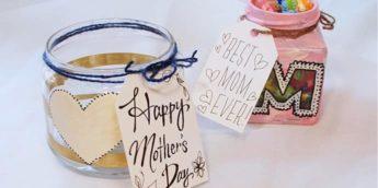 メイソンジャーを使って、母の日の手作りプレゼントを作ろう【簡単工作】