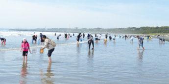 【親子で自然体験】大洗サンビーチで 潮干狩り。気分は宝探し!【茨城】