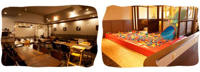 オールデイホーム 武蔵小山店 子どもが遊べるキッズスペースがあります