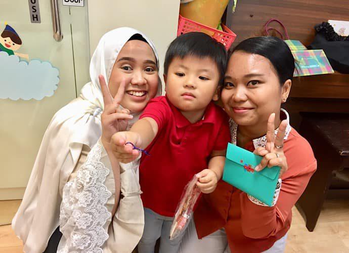 シンガポールの幼稚園7