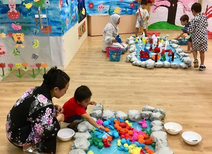 シンガポールの幼稚園5
