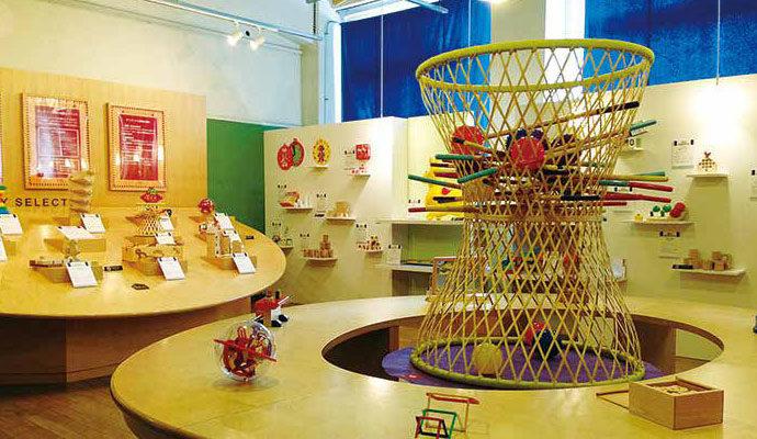 東京おもちゃ美術館 おもちゃを展示
