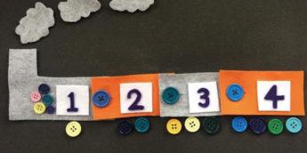 【工作】ボタンかけと数字を楽しく学べる!手作り知育玩具