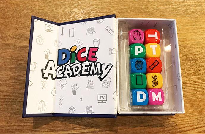 知育系ボードゲーム Dice Academy(ダイスアカデミー)