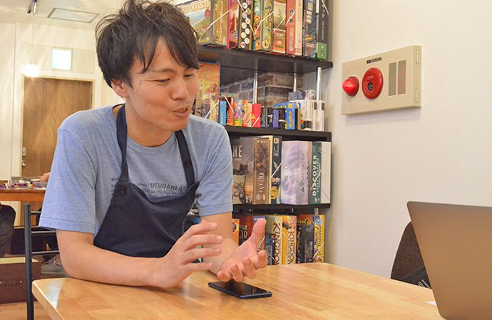 ASOBAKO店長の奥村さん