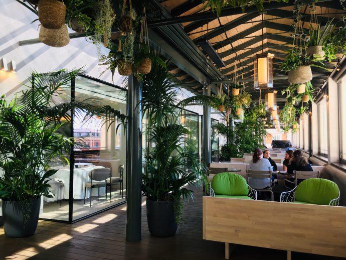 ロイヤルオペラハウスのカフェ