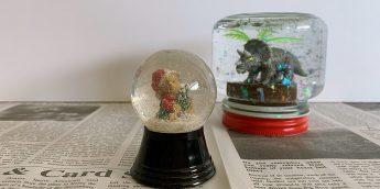 クリスマスシーズンに!オリジナル「スノードーム」の作り方。 お気に入りの世界を表現しよう【簡単工作】